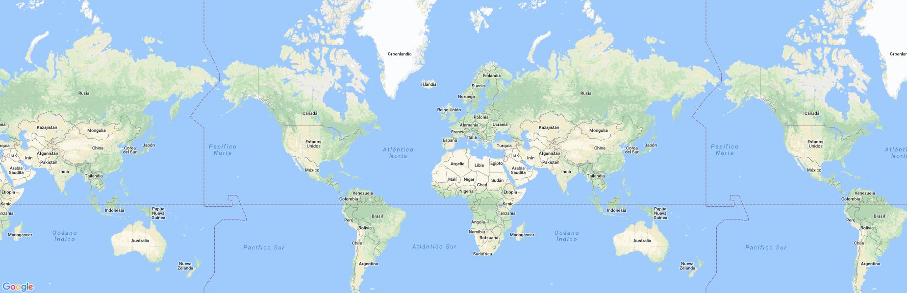 Static image map